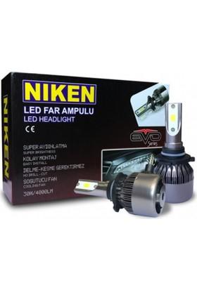 Niken Led Xenon Set Ampul H3 6500K