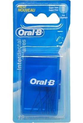 Oral-B Arayüz Fırçası Yedeği 2.3 mm Düz (12 Adet)