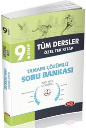 9. Sınıf Tüm Dersler Özel Tek Kitap Tamamı Çözümlü Soru Bankası