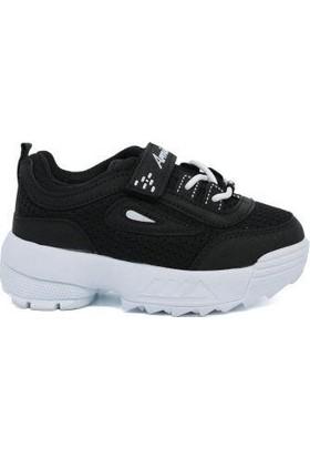 Armix Kız Çocuk Siyah Günlük Spor Ayakkabı