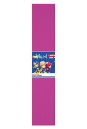 Adeland Krepon Kağıt Pembe 10 Lu (1 Paket 10 Adet)