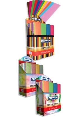 Gıpta Krepon Kağıt 50-200 Kırmızı 4-9123000-2181 10 Lu (1 Paket 10 Adet Tek Renk)
