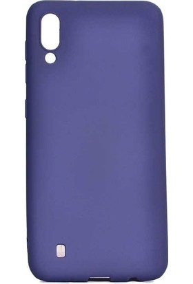 KNY Samsung Galaxy A10 Kılıf Ultra İnce Mat Silikon + Nano Cam Ekran Koruyucu