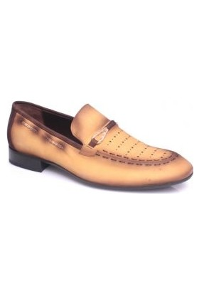 Erkan Kaban 2321 888 Hardal Yağlı Deri Ayakkabı