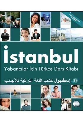 İstanbul Yabancılar İçin Türkçe B1 Orta Seviye Ders Kitabı Çalışma Kitabı ve CD Arapça - Türkçe