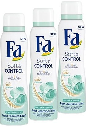 Fa Soft&Control Deosprey x 3 Adet