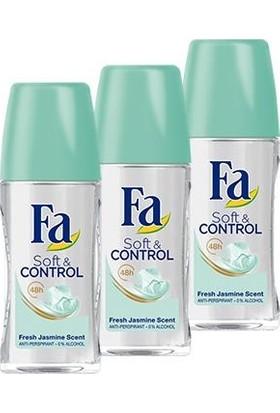 Fa Soft&Control Roll-On x 3 Adet