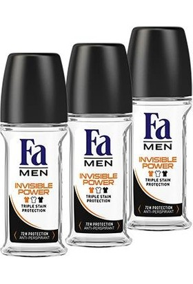 Fa Men Xtreme Invisible Roll-On x 3 Adet