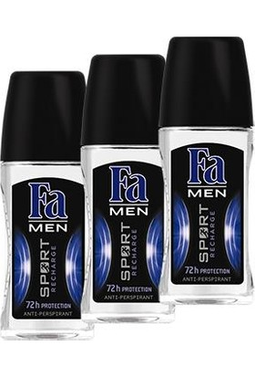 Fa Sport Recharge Roll-On x 3 Adet