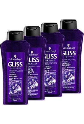 Gliss 525Ml Intense Therapy Şampuan * 4 Adet