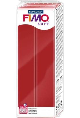 Staedtler Fimo Soft Polimer Kil 454Gr. Christmas Red