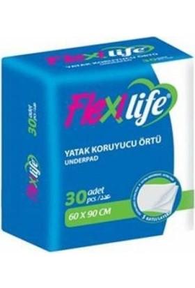 Flexilife Yatak Koruyucu Örtü 60X90 30 Luk Paket - 4 Paket-120 Adet