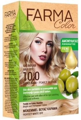 Farmasi Farmacolor Saç Boyası 100 Sedef Sarı