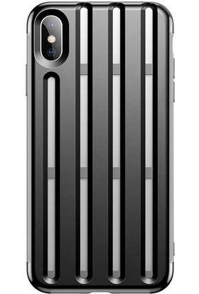 Baseus Apple iPhone XS Max 6.5 Kılıf Baseus Cycling Helmet Telefon Kılıfı