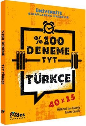 Fides Yayınları TYT Türkçe %100 40x15 Deneme