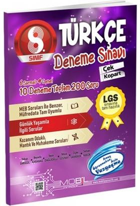 Mobil 8. Sınıf LGS Türkçe 10 Deneme