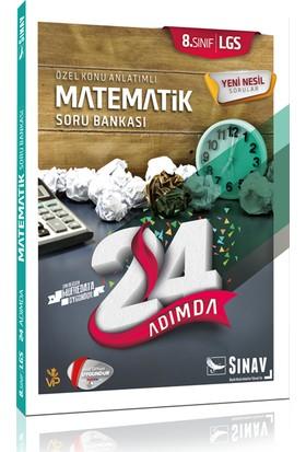 Sınav 8.Sınıf 24 Adımda Matematik Soru Bankası