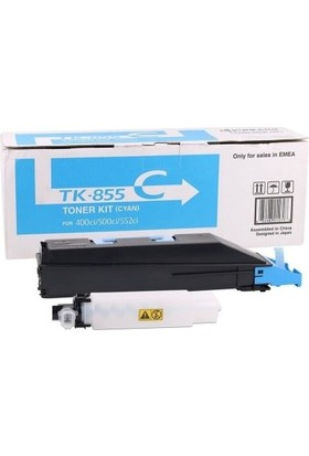 Kyocera TK-855 Mavi Fotokopi Toneri