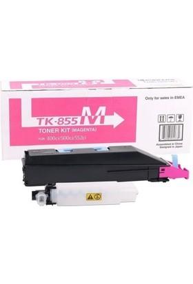 Kyocera TK-855 Kırmızı Fotokopi Toneri