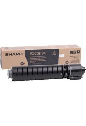Sharp MX-70GTBA Siyah Fotokopi Toneri