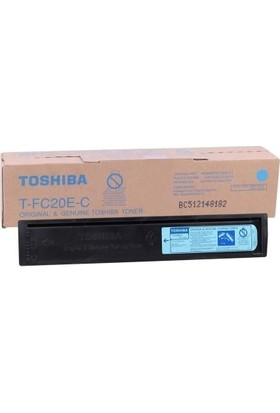 Toshiba T-FC20E-C Mavi Fotokopi Toner