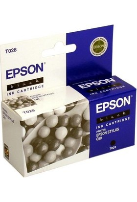 Epson T028-C13T02840120 Siyah Kartuş