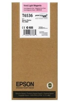 Epson T6536-C13T653600 Açık Kırmızı Kartuş