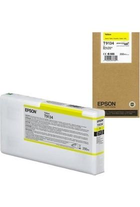 Epson T9134-C13T913400 Sarı Kartuş