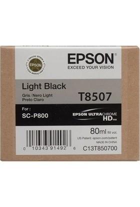 Epson T8507-C13T850700 Açık Siyah Kartuş