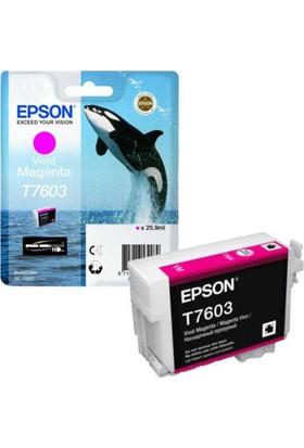 Epson T7603-C13T76034010 Kırmızı Kartuş