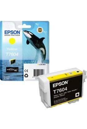 Epson T7604-C13T76044010 Sarı Kartuş
