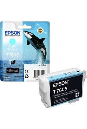 Epson T7605-C13T76054010 Açık Mavi Kartuş