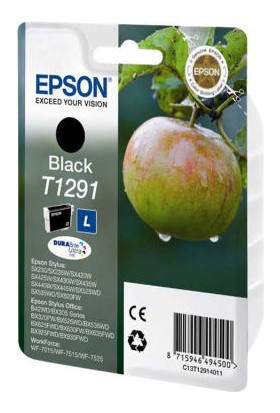 Epson T1291-C13T12914020 Siyah Kartuş