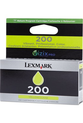 Lexmark 220-14L0088A Sarı Kartuş