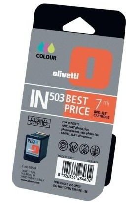 Olivetti IN-503 Renkli Kartuş
