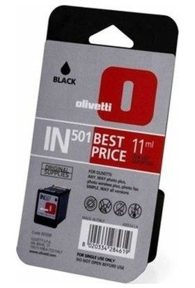 Olivetti IN-501 Siyah Kartuş