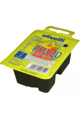 Olivetti FPJ-20 Siyah Kartuş
