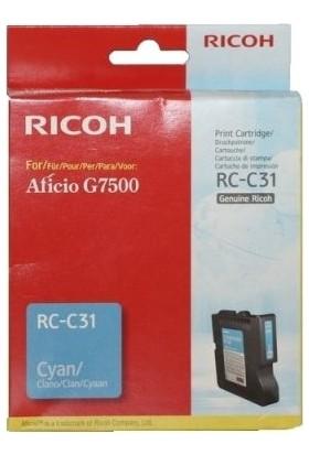 Ricoh Aficio RC-C31 Mavi Kartuş