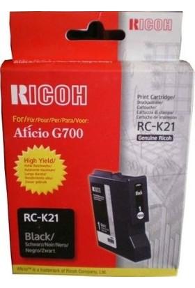 Ricoh Aficio RC-K21 Siyah Kartuş