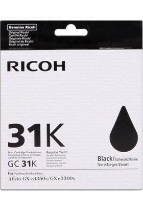 Ricoh Aficio GC-31K Siyah Kartuş