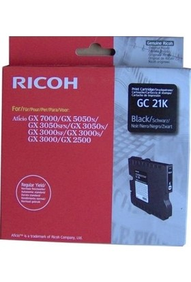 Ricoh Aficio GC-21K Siyah Kartuş