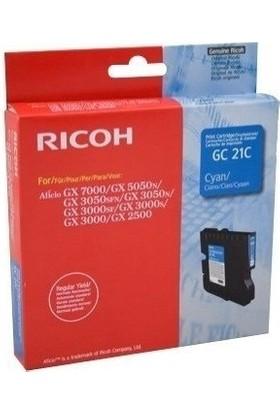 Ricoh Aficio GC-21C Mavi Kartuş