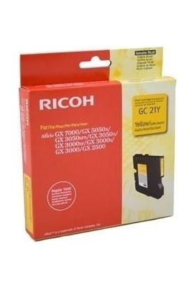 Ricoh Aficio GC-21Y Sarı Kartuş