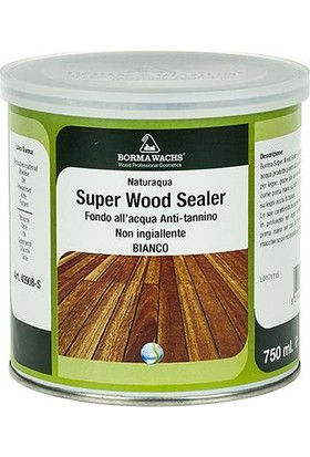 Borma Wachs Super Wood Sealer Anti Tanin Astar