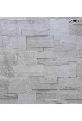 Halley Natural Design 61007 Vinil Taş Desenli Duvar Kağıdı