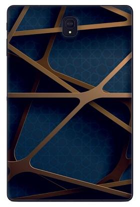GoGo Samsung Galaxy Tab S4 10.5'' T830 Çizgiler Baskılı Silikon Kılıf