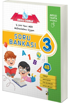 Damla Yayınevi Tüm Dersler Soru Bankası 3. Sınıf 2018