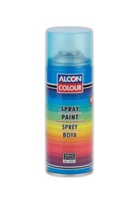 Alcon Colour Genel Amaçlı Sprey Boya - Parlak Siyah 400 ml