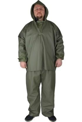 Yağmurluk Balıkçı Takım Üstten Giymeli