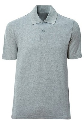 İlkiş Polo Yaka Gri Tişört